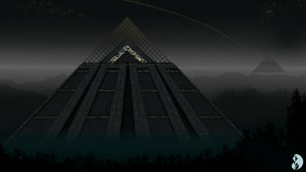 Pyramids of the Cradle (Heliopolis) by Martechi