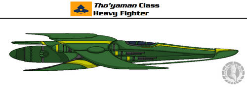 Tho'yaman Heavy Fighter by Martechi