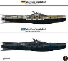 Falke-Class Torpedo Boat (FFCF) by Martechi