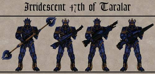 Irridescent of Taralar by Martechi