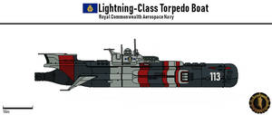 Lightning-Class Torpedo Boat (Commonwealth) by Martechi