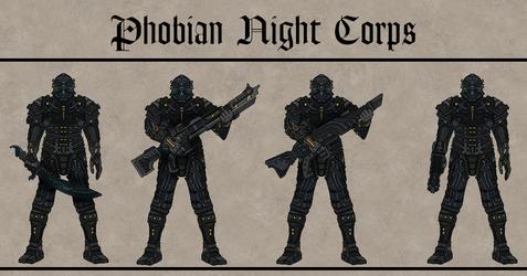 Phobian Night Corps by Martechi