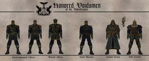 Honored Voidsmen of the Androktasiai by Martechi