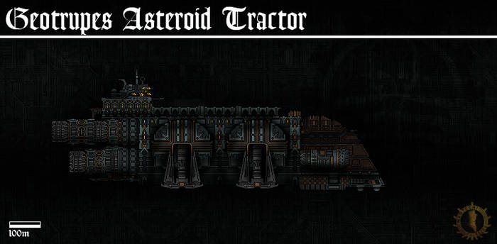 003 Geotrupes Asteroid Tractor