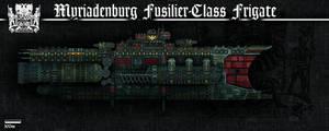 Fusilier-Class Frigate (Myriadenburg)