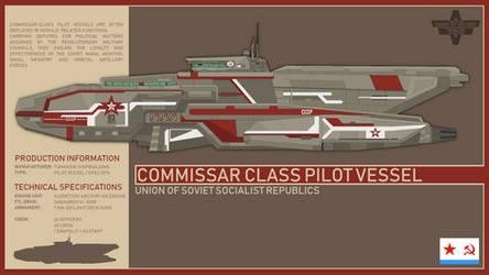 USSR Commissar Class Pilot Vessel (DoV) by Martechi