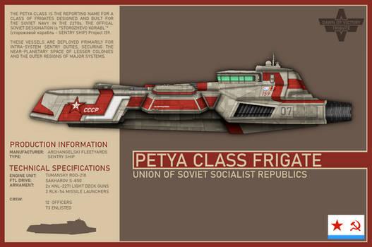 USSR Petya Class Frigate (DoV)