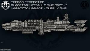 UCF Planetary Assault Ship (Yamamoto variant)