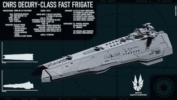 Decury Fast Frigate (Galactic Empire)