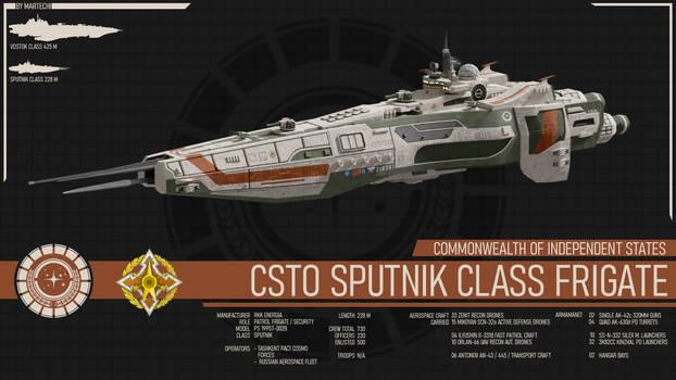 CSTO Sputnik Class Frigate - Terran Mandate