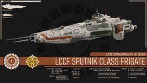 LCCF Sputnik Class Frigate - Terran Mandate