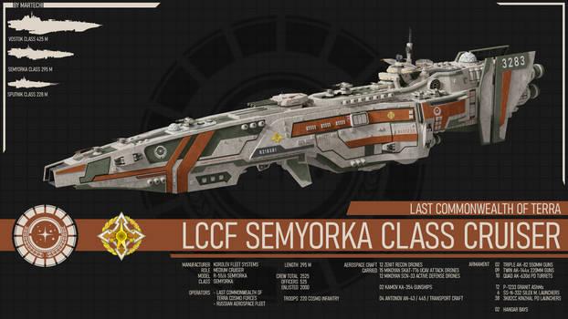 LCCF Semyorka Class Cruiser