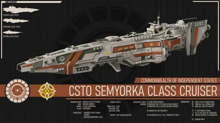 CSTO Semyorka Class Cruiser by Martechi