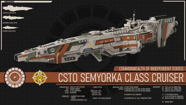 CSTO Semyorka Class Cruiser