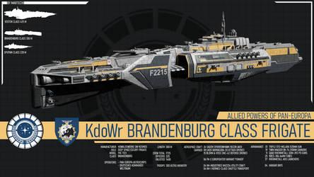 KdoWr Brandenburg Class Frigate by Martechi