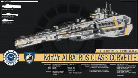 KdoWr Albatros Class Corvette by Martechi
