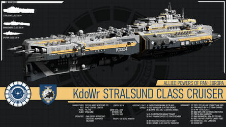 KdoWr Stralsund Class Cruiser by Martechi