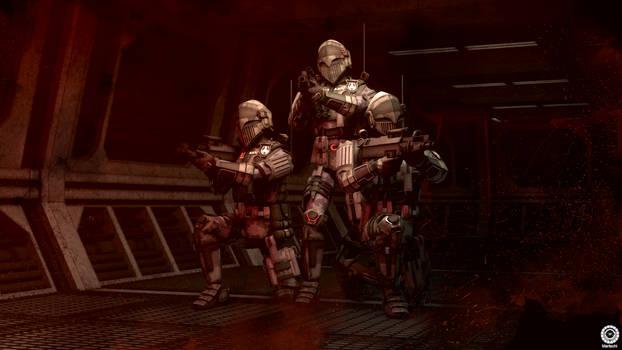 Deck fourteen exercise - Terran Mandate