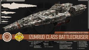 Izumrud Class Battlecruiser - Terran Mandate