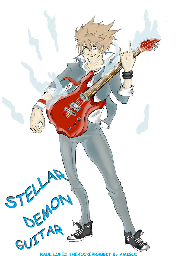 FANART STELLAR DEMON GUITAR by AMIGUI