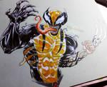 Snikt! Venomized Wolverine