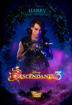 Descendants 3 Poster HARRY