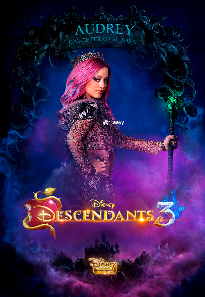 Descendants 3 Poster AUDREY by RaayB on DeviantArt