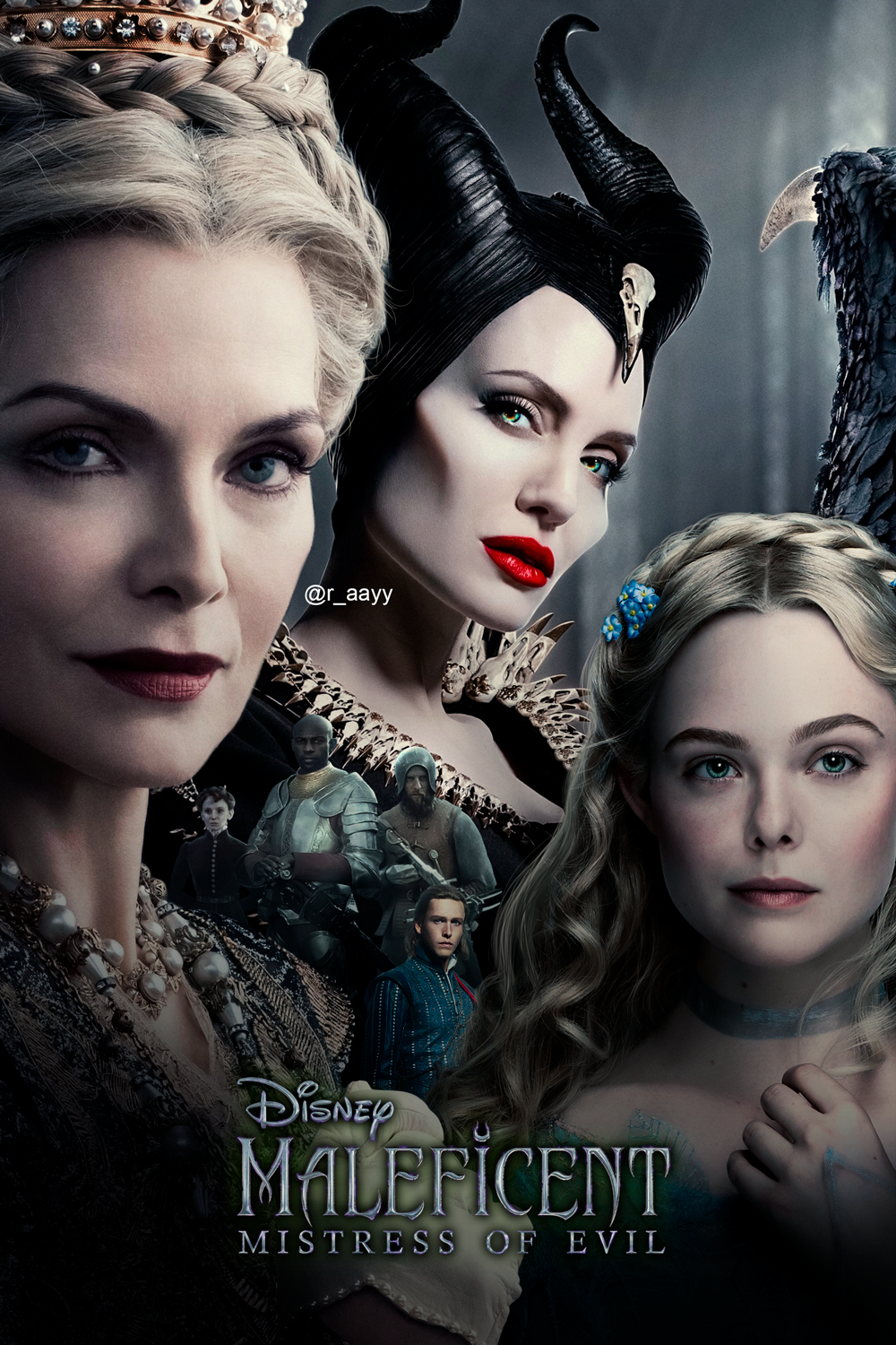 Maleficent Mistress Of Evil Poster Fanart By Raayb On