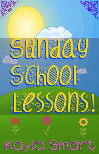 Sunday School Book Cover : Sunday school lessons book cover by kayla smart