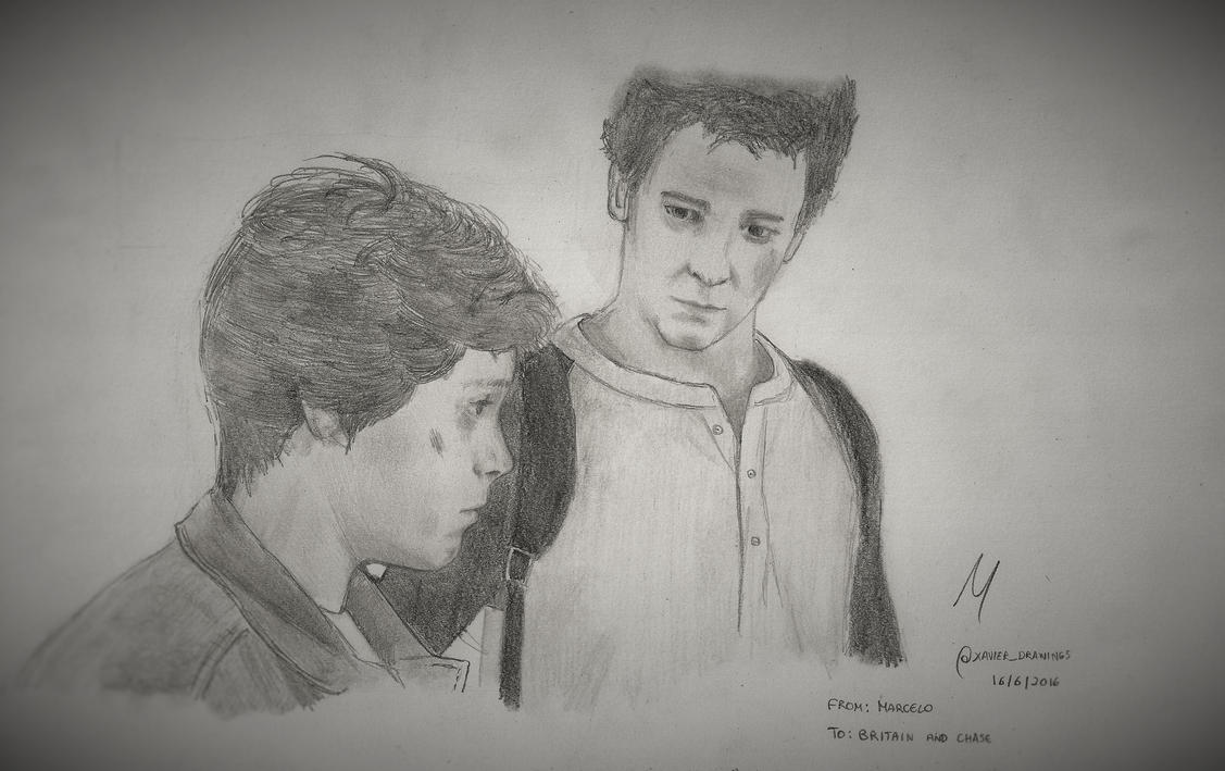Young Nathan and Sam Drake by ElderEagle