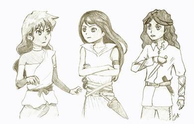 Jasmine vs. Jasmine vs. Jasmine by Strange-Argument