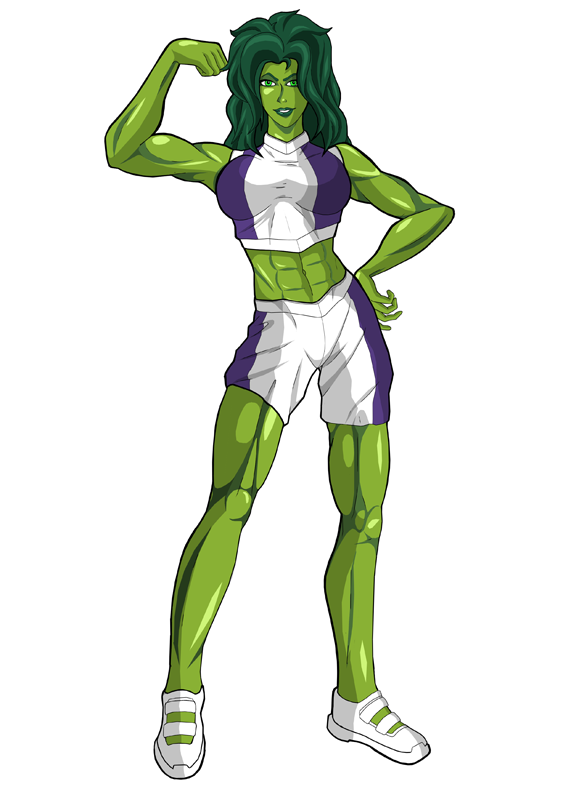 She-Hulk by RebiTora