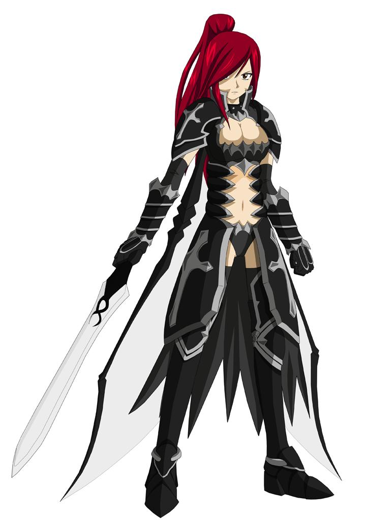 Erza Scarlet - Black Wing Armor by RebiToraErza Scarlet Black Wing Armor Cosplay