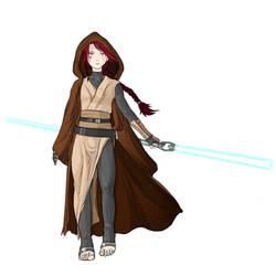 Mikaela Krynn - Jedi Knight by RebiTora