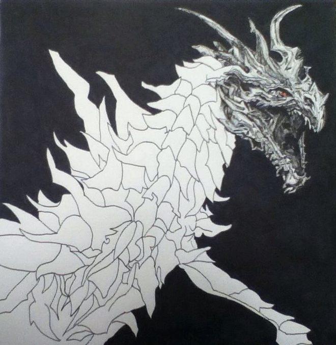 Alduin Drawing: Part 2 By Johoben On DeviantArt