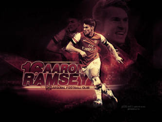 Aaron Ramsey Large Art by pO9-AW