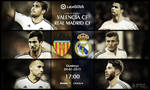 Valencia CF vs Real Madrid CF Large Art by pO9-AW