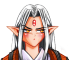 White Fang Icon Tiny by MoonOfYomi