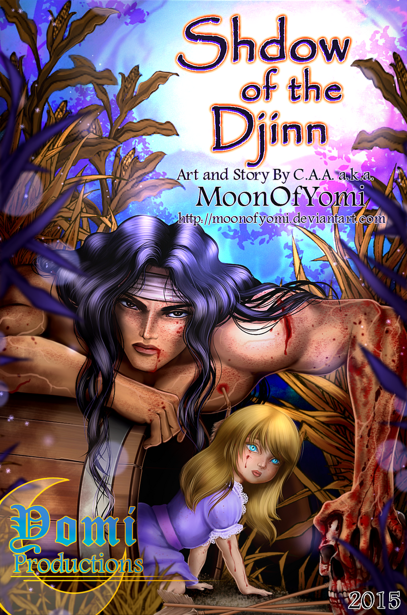 Shadow of the Djinn Cover by MoonOfYomi