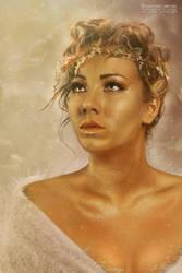 Greek Goddess by VampyrEmpress
