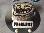 TROLL FACE CAKE