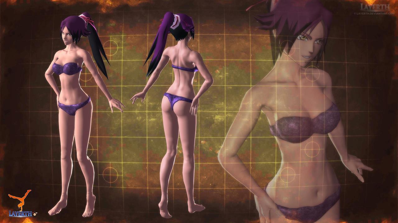 Yoruichi by Layerth-3D