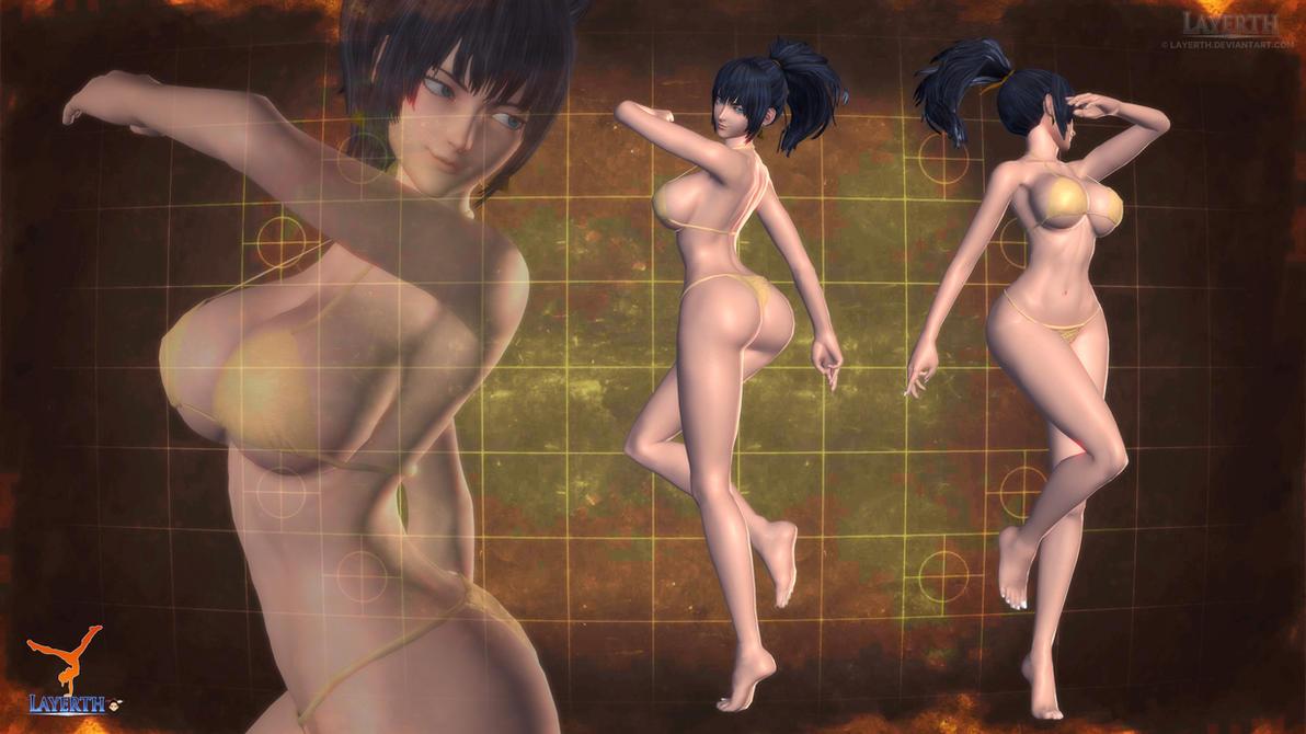 Leona by Layerth-3D