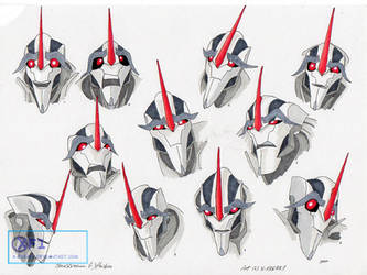 EXPRESSION-STUDY OF STARSCREAM........ by X-FREAK1