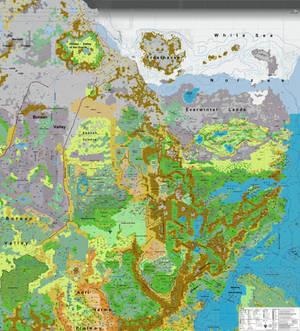 Trail map North