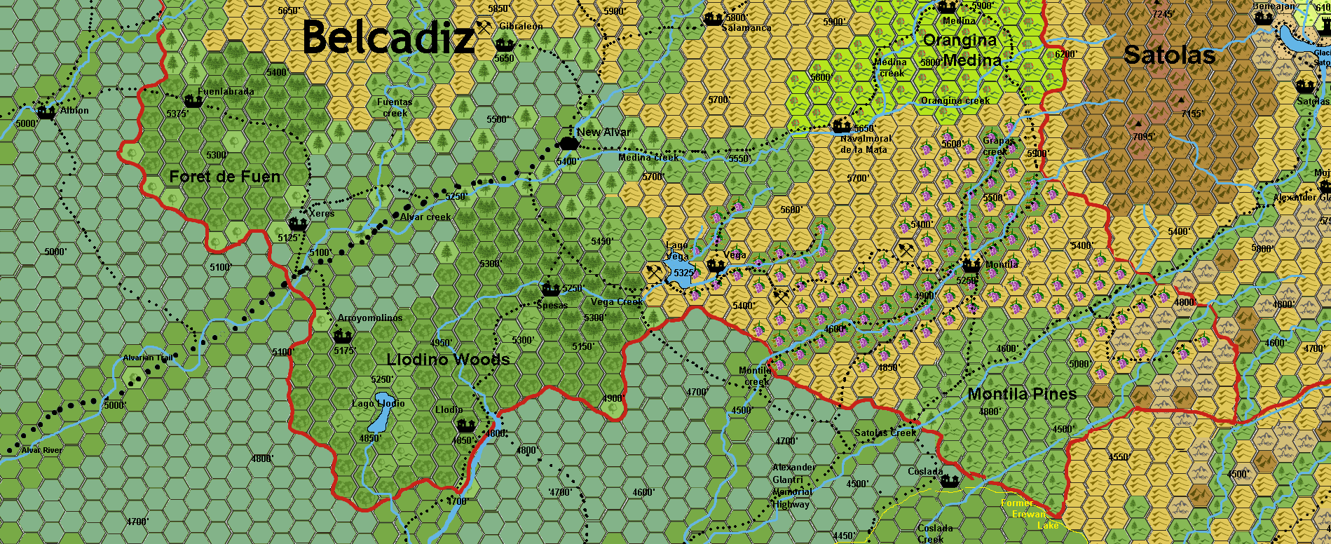 Southern Belcadiz by 6inchnails