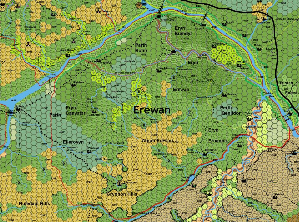 Erewan 1 mile hexes by 6inchnails