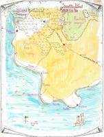 Mid-South-West Karameikos Mystara by 6inchnails