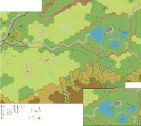Ethengar - Krandai River (South) by 6inchnails