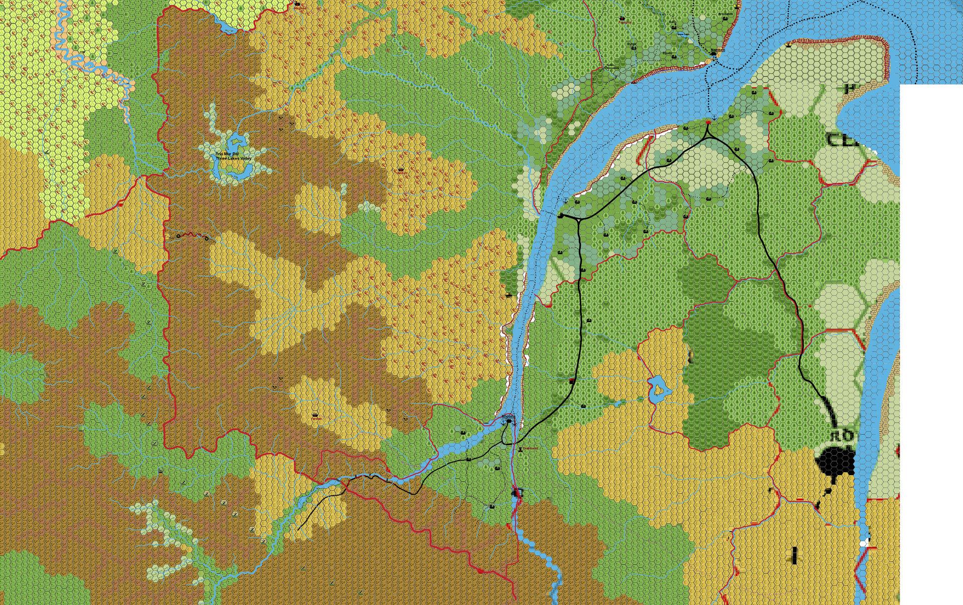 Ethengar hex 1 Southeast by 6inchnails